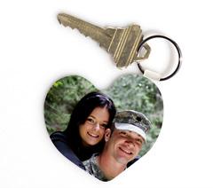 heart key chain